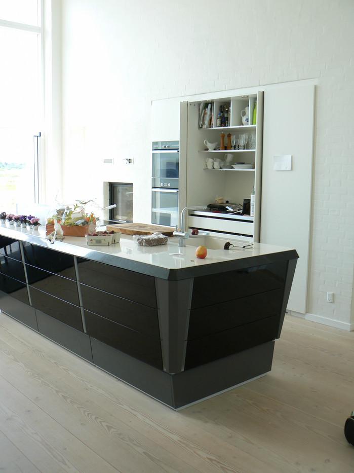 Nyt stuehus - Køkken - Jacob Jensen design fra LIFA